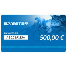 Bikester lahjakortti 500 €